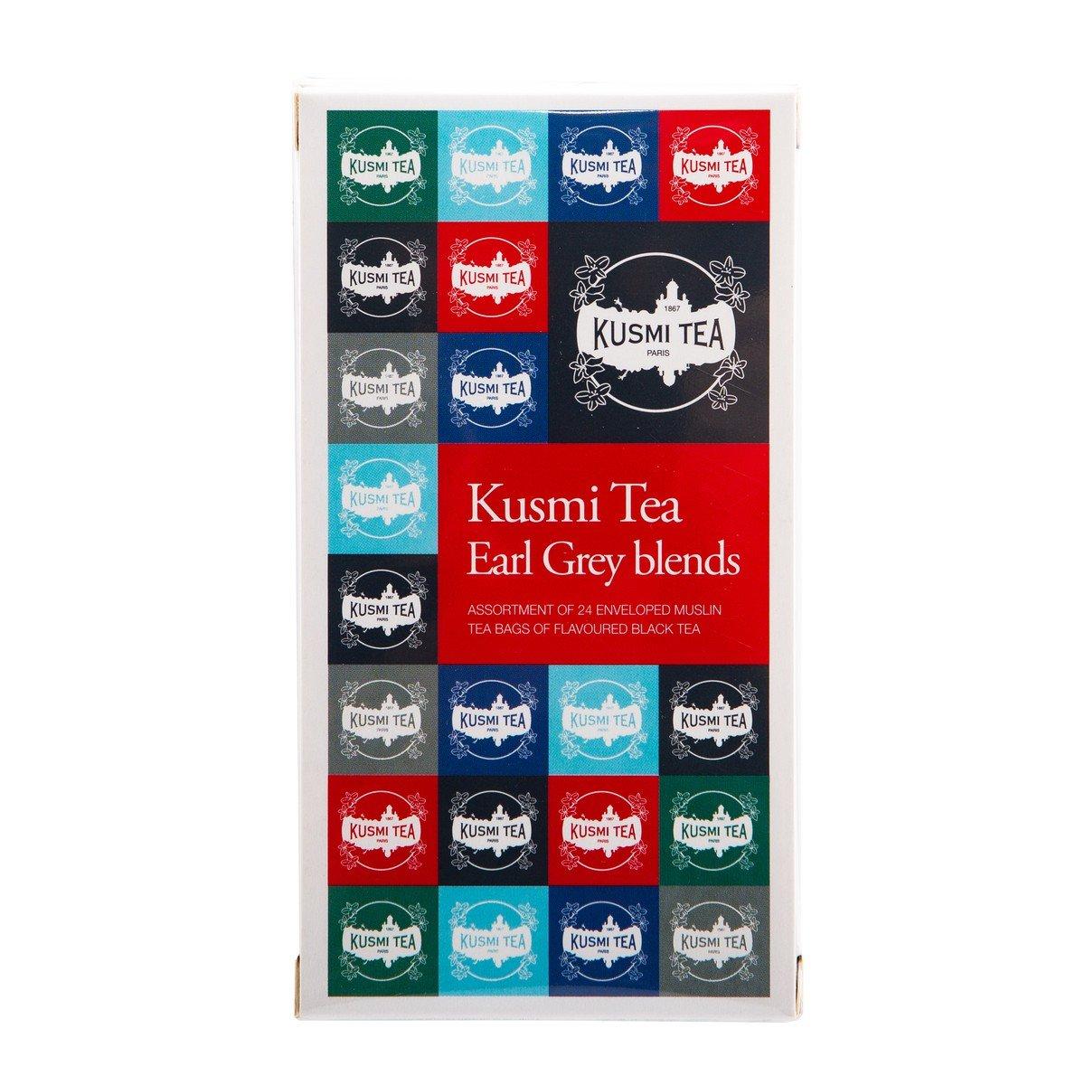 Kusmi Tea Paris - Earl Grey Blends 24 un