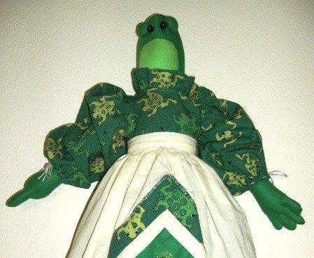 Frog Plastic or Grocery Bag Holder