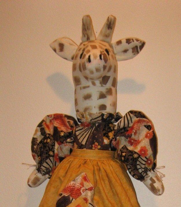 Giraffe Plastic or Grocery Bag Holder