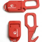 DEEP OUTDOORS LINE CUTTER; RED NIB
