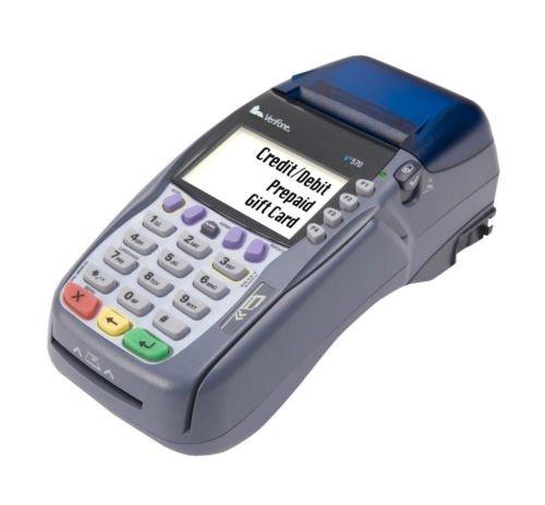 NIB BRAND NEW VERIFONE OMNI VX570 CREDIT CARD TERMINAL