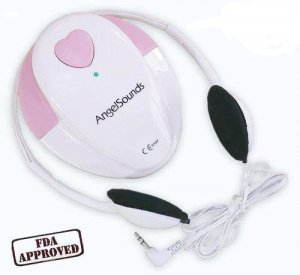 Fetal Doppler Baby Heart Rate Monitor (Angelsounds JPD-100S)