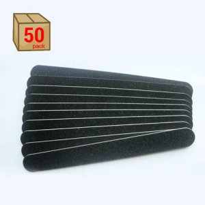 50-Pack of Black Nail Files by U-Style