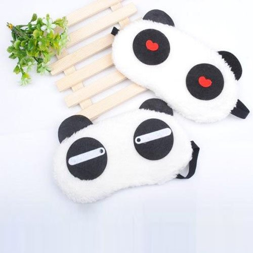 Cute Panda Eye Cover Sleep Mask (2-Pack)