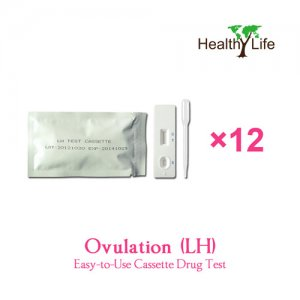 One-cycle Urine Test - Home LH Ovulation Test Cassette 12 Pack