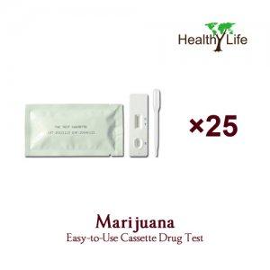 THC Marijuana Test Cassette - 25 Pack (Home Use Urine Tests)