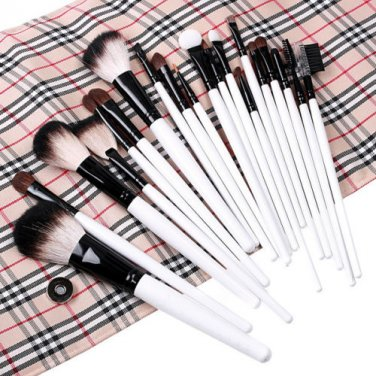 Professional 20pcs Makeup Brush Set with Carrying Case