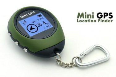 Sunroad Mini GPS Receiver + Location Finder with Digital Display