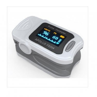 Fingertip Pulse Oximeter with Color OLED Screen - FDA and CE Approved (Accurate Medical Model FS20A)