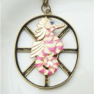 Steampunk Original Design Seahorse Vinatge Style Necklace