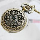 Antiqued Brass Vintage Style  Nostalgic Chinese Knot Pocket Watch Necklace