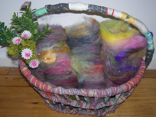 Rachel-Marie Fiber Batts for Crafting Multi