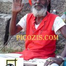 """VPE009201109 - Indian Man waves - 15x20cm (6x8"""")"""