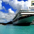 "VCA002201109 - Cruise ship in the Carribeans - 20x30cm (8x12"")"