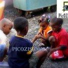 """VPE013201109 - Kids Playing - 15x20cm (6x8"""")"""