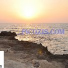 "BSU001201109 - Beautiful sunset in Israel-20x30cm (8x12"")"