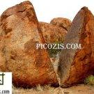 "VLA013201109 - Devils marbles -28x35cm (11x14"")"
