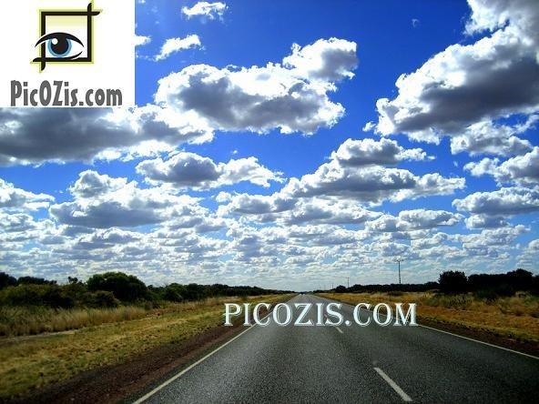 "VLA014201109 - Open road - NT - 15x20cm (6x8"")"