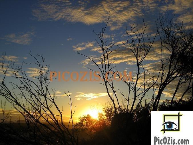 """VSU002201109 - Sunset in Alice Springs - 13x18cm (5x7"""")"""
