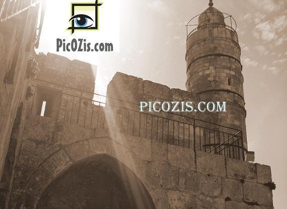 """VBW002201109 - David Tower - 28x35cm (11x14"""")"""