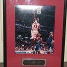 Michael Jordan autographed LE 16x20 photo framed