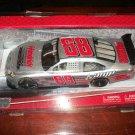 Dale Earnhardt Jr autographed 1:24 #88 silver National Guard car