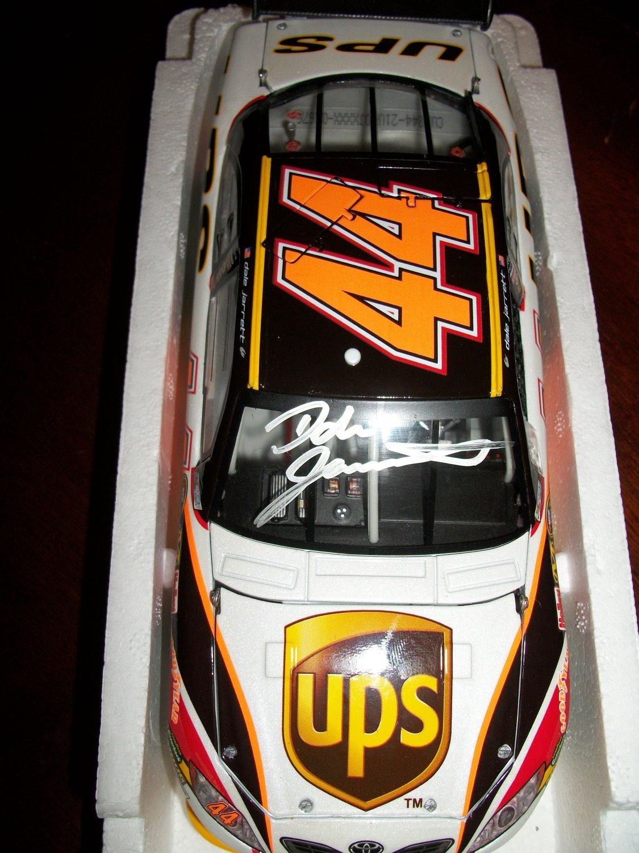 Dale Jarrett autographed 1:24 UPS car
