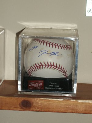 David Price autographed baseball with #1 Pick inscription