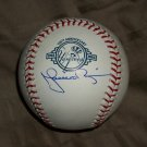 Mariano Rivera autographed baseball- Yankees 100th anniversary