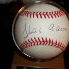 Hank Aaron autographed authentic MLB baseball