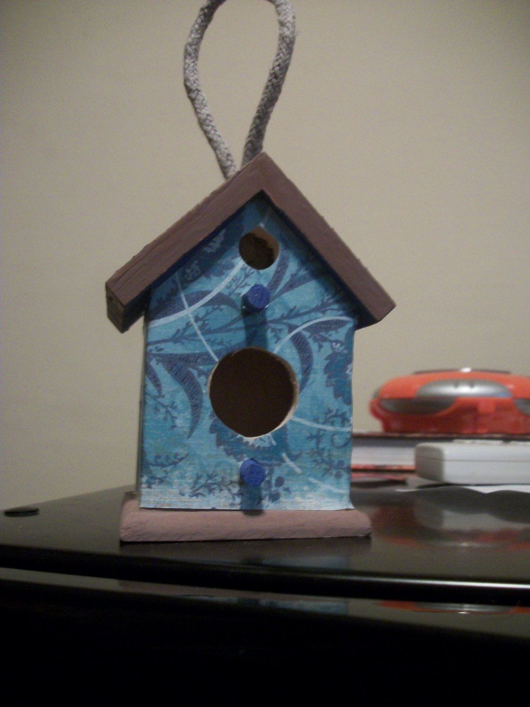 Miniature Bird Houses-Decorative