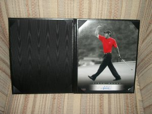 Tiger Woods LE autographed 8x10 Black/White UDA photo