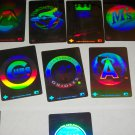 1991 Upper Deck Baseball Reflector Stickers-10pk