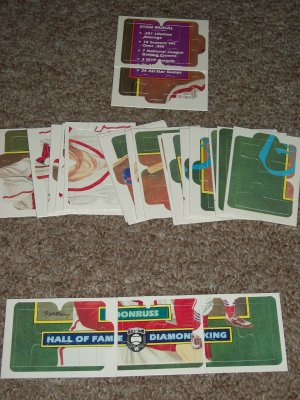 Rare Stan Musial 1988 Donruss Diamond Kings Puzzle-Complete Set