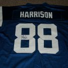 Marvin Harrison autographed Colts replica jersey