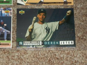 1994 Derek Jeter Upper Deck-Top Prospects- Rookie Card