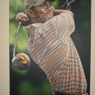 Tiger Woods Limited Edition Canvas Painting