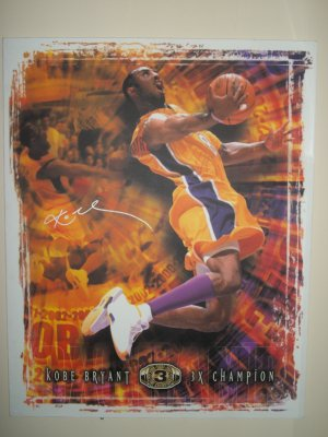 Kobe Bryant limited edition autographed painting- Upper Deck Authenticated