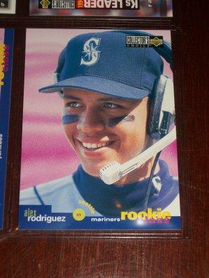 Alex Rodriguez 1995 Upper Deck Rookie Class Baseball Card