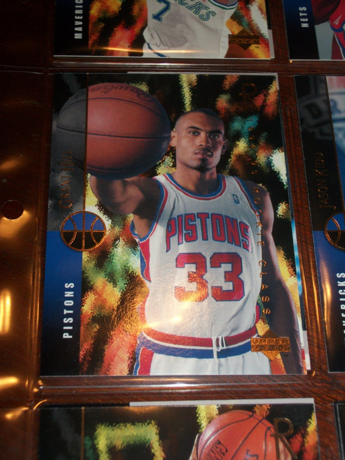 How Much Is Tax >> Grant Hill 94-95 Upper Deck basketball card- Rookie Class
