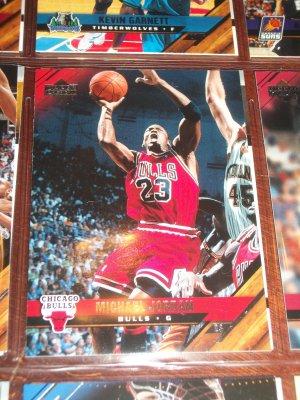 Michael Jordan 05-06 Upper Deck basketball card