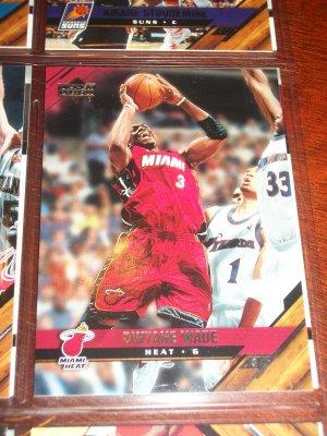 Dwyane Wade 05-06 Upper Deck basketball card