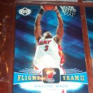 Dwyane Wade 04-05 Upper Deck basketball card- Flight Team Insert
