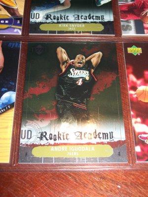 Andre Iguodala 04-05 upper deck basketball card- Rookie Academy Insert