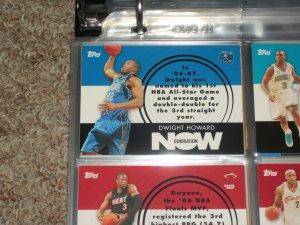 Dwight Howard 2007 Topps Generation Now Basketball Insert Card