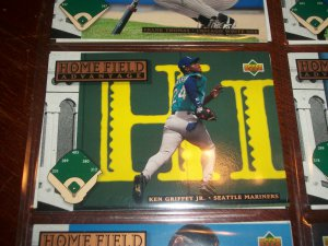 Ken Griffey jr 1994 upper deck-home field advantage card