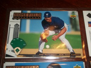 Don Mattingly 1994 Upper Deck-Home Field Advantage card