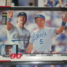 George Brett, Robin Yount, Dave Winfield 1994 Upper Deck-Best of the 90's Baseball card