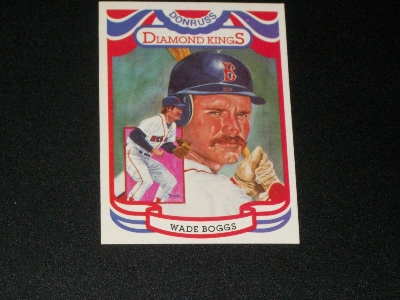 Rare Wade Boggs 1983 Diamond Kings Donruss Baseball card