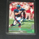 Cade McNown Rare Autographed 2000 Topps Stadium Club football card
